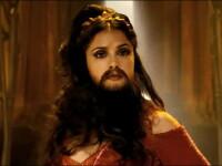 Uite cum arata Salma Hayek cu barba!