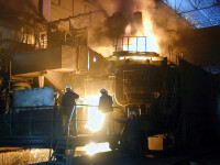 Tragedie la combinatul Otelul Rosu! Un muncitor si-a pierdut viata