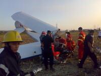 Avion prabusit langa Targu Mures! Pilotul, in stare grava la spital