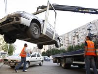 Razboi pe ridicarea masinilor! Si locurile de parcarile unde-s?