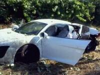 Foto horror! Cum arata masina lui Anderson dupa ce a explodat!