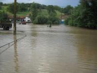 Cod galben de inundatii pentru mai multe judete din Transilvania