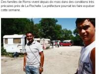 Un supermarket francez a interzis accesul tiganilor romani in incinta