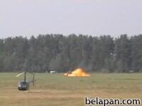 Video socant: elicopter prabusit la un concurs sportiv!