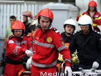 Pompier la Giulesti: Ardea totul, erau gaze. Am scos copiii si cu dintii