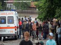 Arad: Doua persoane au ajuns la spital, dupa ce masina lor a fost lovita