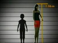 Fata gigant: are 2,06 metri, la 14 ani!