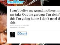 50 Cent: Sunt putred de bogat si bunica mea ma pune sa duc gunoiul
