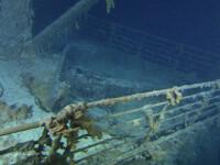 Cele mai noi si spectaculoase imagini cu epava Titanicului! VEZI VIDEO