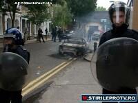Britanicii nu se potolesc. Revoltele au fost reluate in apropiere de Birmingham