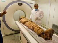 VIDEO. Avea altceva in loc de creier. O mumie de 2.500 de ani, in imagini 3D