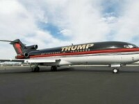 Apartament de lux zburator. Cum arata avionul de 100 mil. dolari al lui Donald Trump FOTO si VIDEO