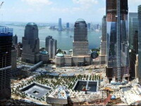 VIDEO. Cei 7 ani de constructie ai Memorialului 9/11 din SUA intr-un SINGUR minut