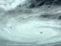 Imagini apocaliptice. Cum arata din spatiu uraganul care ar putea evacua New York-ul. VIDEO