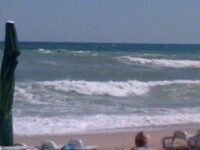Interzis la scaldat in Marea Neagra. Vant puternic si valuri foarte periculoase