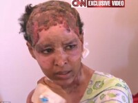 Motivul uluitor pentru care o servitoare din casa Ghaddafi a fost oparita si legata in beci