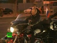Putin pariaza pe femei la prezidentiale.Dupa poze la bustul gol, premierul-macho s-a urcat pe Harley