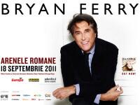 BRYAN FERRY in premiera in Romania pe 18 septembrie, la Arenele Romane din Bucuresti