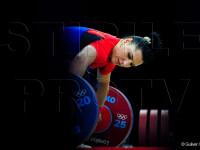 Roxana Cocos a castigat medalia de argint la haltere, la 69 de kilograme