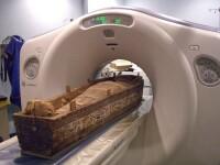 Descoperire de exceptie in craniul unei mumii vechi de 2.400 de ani. \