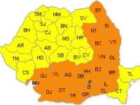 Codul galben de canicula persista in Vest. Vezi aici pana cand vom mai avea temperaturi arzatoare