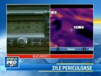 Experiment StirileProTV: cat de periculos e sa te urci intr-o masina care a stat toata ziua la soare