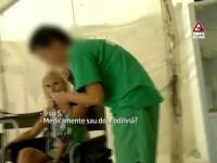 Un batran a murit dupa ce asistenta care trebuia sa il ingrijeasca l-a lasat sa zaca pe podea