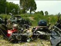 Bilantul carnagiului de la Tulcea a ajuns la 8 morti. Tanarul de 20 de ani din BMW a murit azi