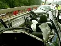 Doua persoane au murit si alte sase au fost ranite, intr-un accident produs in Prahova