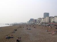 Ce face un cuplu pe plaja, in plina zi, in timp ce mai multe persoane priveau.