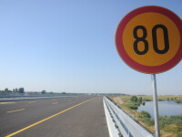 Limita de viteza pe A3: 100km/h. Viteza cu care a fost prins de radare un bucurestean: 215km/h