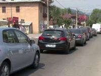 Weekendul la munte, in masina. Cozile infernale i-au scos din minti pe turistii de pe Valea Prahovei