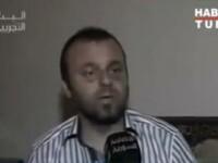 Primele imagini televizate cu un jurnalist turc capturat de militarii regimului sirian. VIDEO