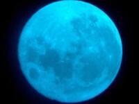 Luna albastra, fenomenul extrem de rar care va fi vizibil pe cer in aceasta noapte