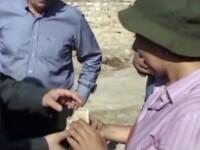 Descoperire istorica anuntata de arheologi. Un fragment din crucea lui Iisus, gasit in Turcia