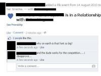 Ce se intampla daca anunti pe Facebook ca esti intr-o relatie. Erorile scapate pe News Feed