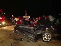 Accident teribil langa Targu Mures. Doi frati au murit, dupa ce soferul a intrat pe contrasens