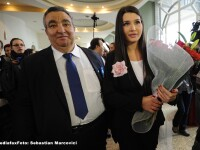 Elena Basescu a trimis, prin senatorul Ariton, o coroana de flori pentru Florin Cioaba