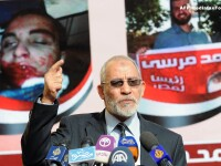 CRIZA IN EGIPT. Ghidul Suprem al Fratilor Musulmani a fost arestat la Cairo. VIDEO