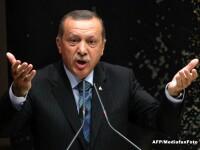 Presedintele Turciei da vina pentru atacurile de la Paris pe autoritatile franceze.