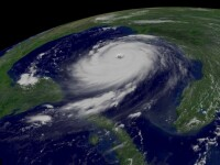 Cum arata vremea din ultimii zece ani, din spatiu, in doar trei minute. VIDEO