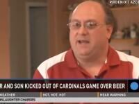 Ce a patit un suporter de fotbal american dupa ce i-a spus fiului: