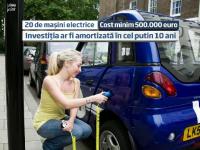 Statul promite taxe si impozite mai mici pentru masinile electrice. In Capitala vor fi 24 de prize