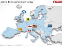 Mișcările de independență în Europa. Ce legătură este între Catalonia și România