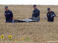 Au fost gasite noi resturi umane ale victimelor catastrofei aviatice din Ucraina. Investigatiile au loc in zona de conflict