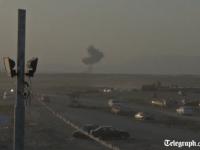 Primele imagini dupa raidurile armatei SUA in Irak. Scenariu catastrofal: jihadistii ar planui sa distruga barajul din Mosul