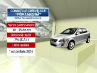 Guvernul lanseaza din toamna programul PRIMA MASINA. Ce vei putea cumpara cu 600 de euro avans si o dobanda preferentiala
