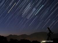 A fost ploaie de stele. Mii de oameni au stat cu ochii pe cerul Romaniei ca sa vada Perseidele si si-au pus dorinte