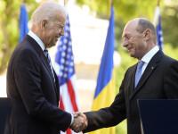 Traian Basescu a vorbit cu Joe Biden, vicepresedintele SUA, despre situatia din Ucraina. Concluzia la care au ajuns cei doi