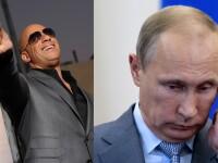 Vin Diesel il provoaca pe presedintele Rusiei, Vladimir Putin, sa isi toarne o galeata cu apa pe cap. VIDEO